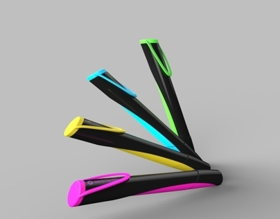 Highlighter for centropen - school project