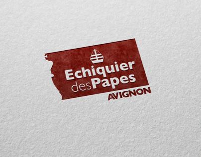Logo - Echiquier des papes Avignon