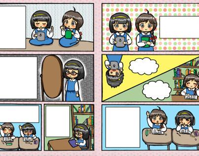 Mini Comic for Girls Bookclub