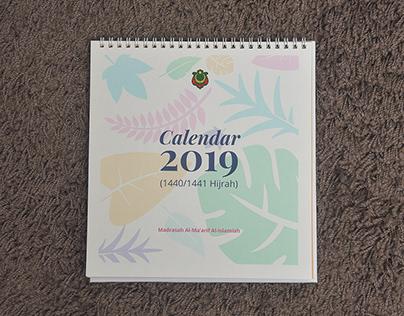 Calendar 2019 Design
