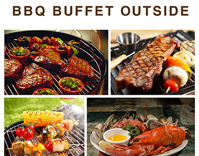 BBQ Buffet Outside - Sonata Resort & Spa