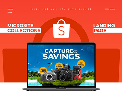 Shopee Microsite/Landing Pages