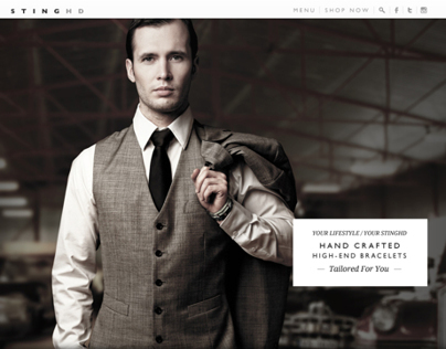 Responsive E-Commerce Web Design - Fashion