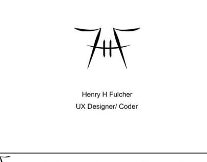 UX Design of my website