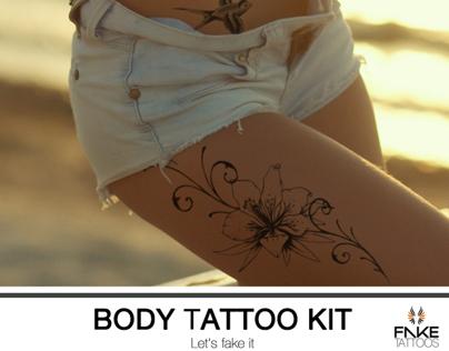 Advertising Fake Tattoos