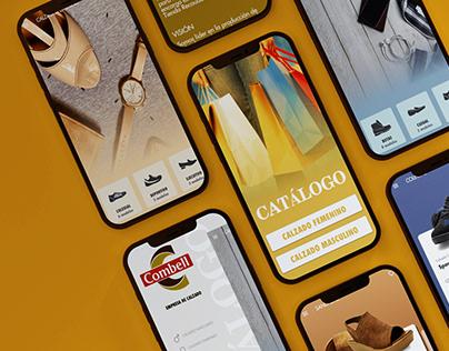 Shoes catalog mobile app