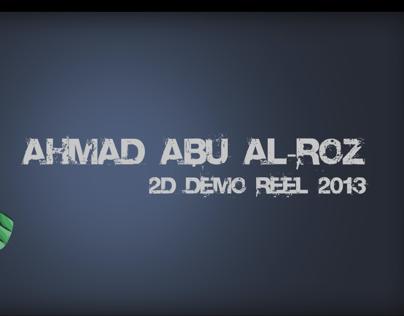 2013 animation demo-reel