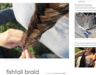 How-To Fishtail Braid