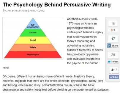 Blog: The Psychology Behind Persuasive Writing