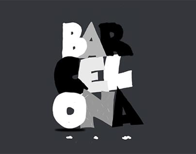 Barcelona - Animated poster