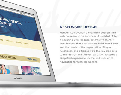 Web Redesign - Hartzell Compounding Pharmacy