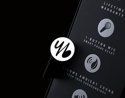 yurbuds Signature Series Packaging