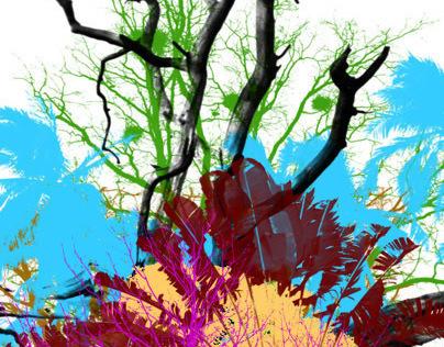 HI-RES trees Photoshop Brushes