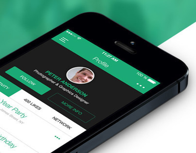 Genius Flat & Modern Mobile Ui - Made with Love