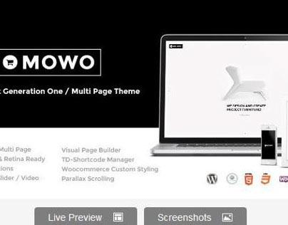 MOWO, next generation one / multipage WP-theme