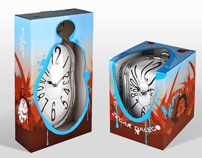Dali Clock packaging