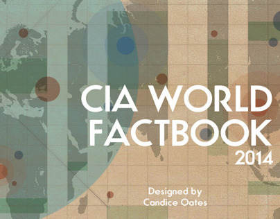 CIA World Factbook: Cover Re-design
