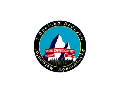 "Concept logo for 1st. Opole Hiking Team ""Metanoia""."