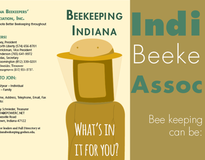 IBA Beekeeping Awareness brochure