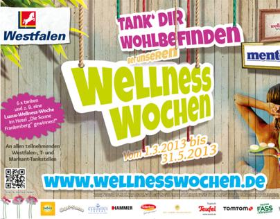 WESTFALEN Wellness Wochen - customer retention campaign