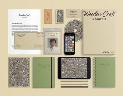 """Handmade furniture """"WOODEN CRAFT"""", identity & website"""