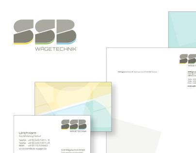 SSB Wägetechnik - Corporate Design