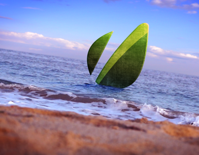 Beach Series - Logo Diving - After Effect template