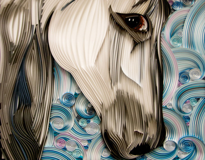 Horse - Paper Quilling