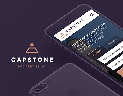 Capstone – website for real estate agency