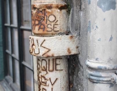 Graffiti - Rouen Rive Droite