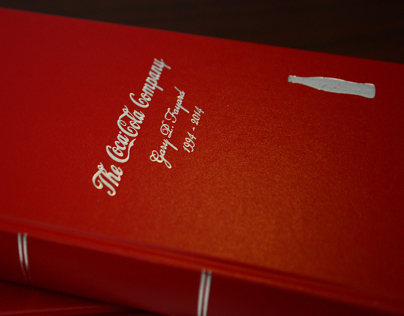 Custom Gift Book for Coca-Cola
