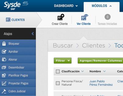 SYSDE Software Financiero/Bancario 02
