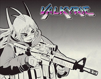 Valkyrie Comic Book Preview