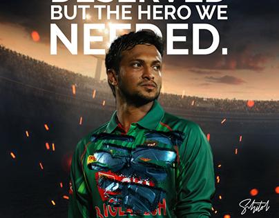 Shakib Al Hasan the Dark Knight of Bangladesh!