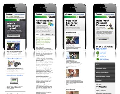 Personal Economy Mobile Site