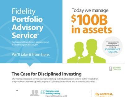 Fidelity Portfolio Advisory Service Infographic