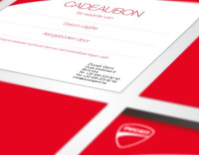 Ducati Gent - Gift coupon