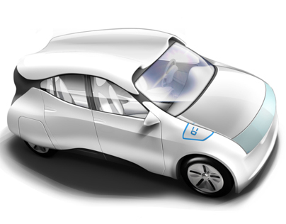 Electric Car Design for Pearl River Delta 2020