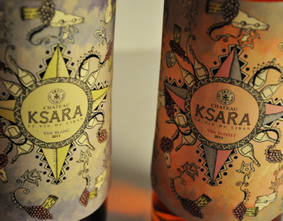 Ksara Bottle redesign and packaging