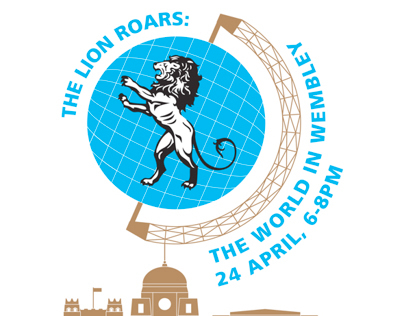 'The Lion Roars: The World In Wembley' Design Work