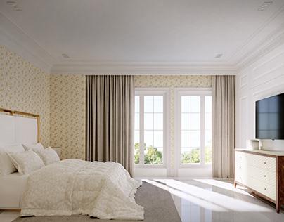 Semi Classic Bedroom