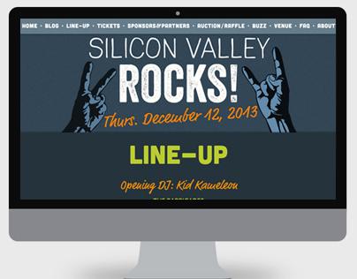Silicon Valley Rocks - Website