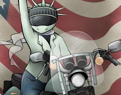 Vote Like A Motorcyclist 2014