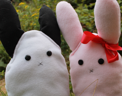 Bunny Rabbit Plushies