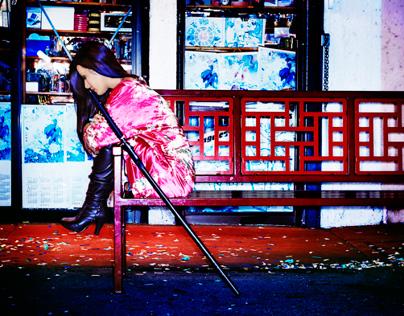 Editorial Photo Shooting 'City Shaolin'