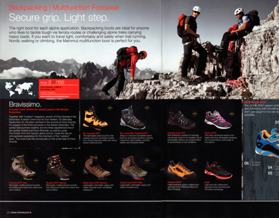 Photo Shooting for MAMMUT and OUTDOOR Magazine