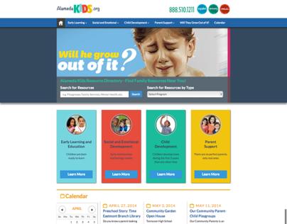 Alameda First 5 Responsive Website