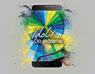 Diseño campaña idol X - TalkBand