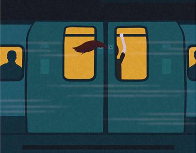 A series of unfortunate train events