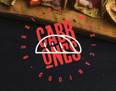 Propuesta de diseño / Burritos Cabrones